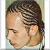"Corn Rows: Frisur CR-M27 ""Georg"" (Magic Style Kundenfoto)"